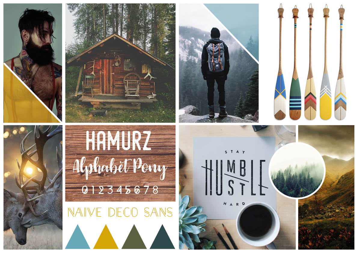 Moodboard hipster